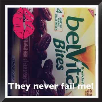 Nabisco belVita Bites Mini Breakfast Biscuits Chocolate - 5 CT uploaded by J L.
