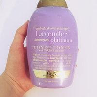 OGX® Lavender Platinum Conditioner uploaded by Katherine S.