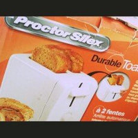 Proctor Silex 2-Slice Extra Wide Slot Toaster in White uploaded by Reyna F.