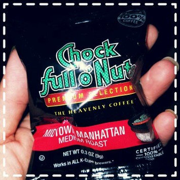 Photo of Chock Full o'Nuts Medium Roast Coffee Midtown Manhattan Single Serve Cups uploaded by Stella N.
