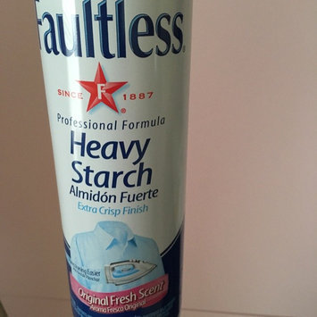 Photo of Faultless® Original Fresh Scent Heavy Starch 20 oz. Aerosol Can uploaded by Mack G. B.