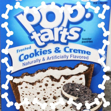 Photo of Kellogg's Pop-Tarts Frosted Cookies & Cream Toaster Pastries uploaded by Kathryn R.