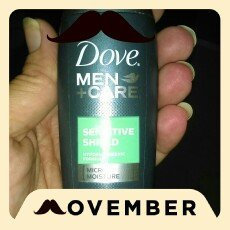 Photo of Dove Men+Care Sensitive Shield Body And Face Wash uploaded by Tarah B.