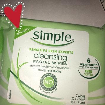 Simple® Eye Makeup Remover Pads uploaded by Myranda E.