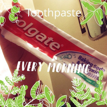 Photo of Colgate® Baking Soda & Peroxide WHITENING Toothpaste Brisk Mint uploaded by Saphire A.