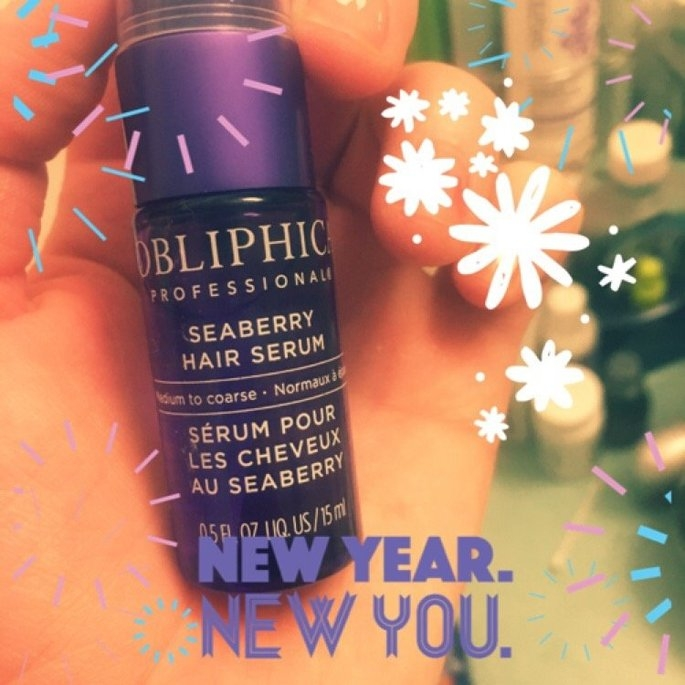 Obliphica Professional Seaberry Hair Serum uploaded by Amber W.