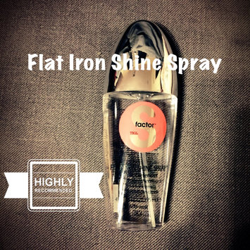 Photo of Tigi S-Factor Flat Iron Shine Spray Heat Defender (125ml) uploaded by Cristina  N.