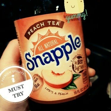 Snapple All Natural Peach Tea uploaded by Brittany K.