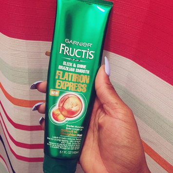 Photo of Garnier® Fructis® Sleek & Shine Brazilian Smooth Flatiron Express Leave-In Balm 5.1 fl. oz. Tube uploaded by Sierra P.