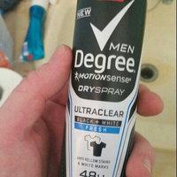 Degree Men Ultra Clear Black + White Antiperspirant Fresh Dry Spray uploaded by John K.