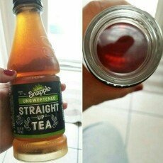 Photo of Snapple® Straight Up™ Unsweetened Tea 18.5 fl. oz. Bottle uploaded by Val B.
