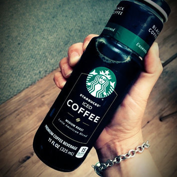 Photo of Starbucks® Black Unsweetened Iced Coffee uploaded by Charlee B.