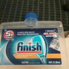 Photo of FINISH Dishwasher Cleaner, Fresh, 8.45 Fl Oz uploaded by Marcelene C.