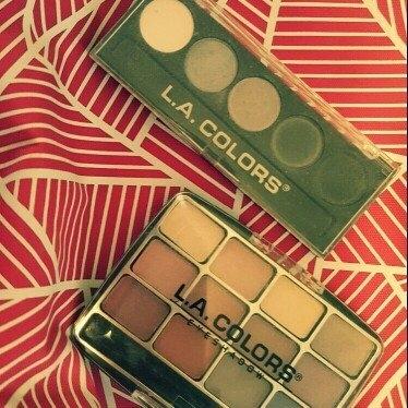 L.A. Colors 5 Color Metallic Eyeshadow, Ammunition, .26 oz uploaded by Megan C.
