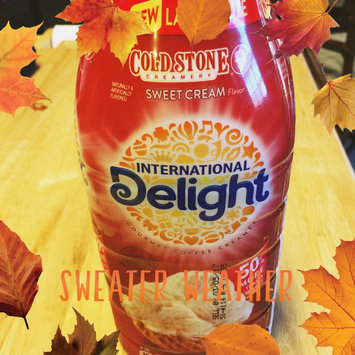 Photo of International Delight Gourmet Coffee Creamer Cold Stone Creamery Sweet Cream uploaded by Joi J.