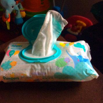 Pampers Sensitive Wipes Travel Pack, 56 ea uploaded by Krystal F.