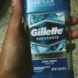 Photo of Gillette 3x Triple Protection System Anti-perspirant Deodorant Clear Gel Cool Wave uploaded by Paola T.