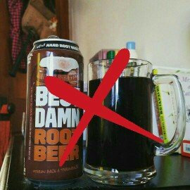 Photo of Best Damn Root Beer Hard Root Beer 12-12 fl. oz. Cans uploaded by Ehm M.