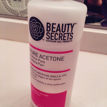 Photo of Beauty Secrets Nourishing Acetone Nail Polish Remover 16 oz. uploaded by Lisa A.