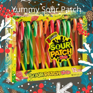 Sour Patch Kids Candy Canes uploaded by Melissa A H.