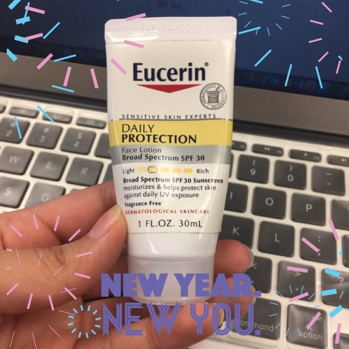 Eucerin Face Lotion and Sunscreen 30 SPF uploaded by Acsa L.