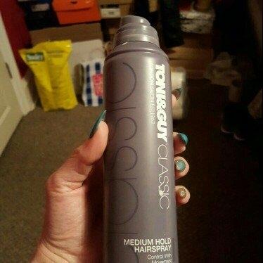 TONI&GUY Medium Hold Hair Spray - 7.4 oz uploaded by Lori K.