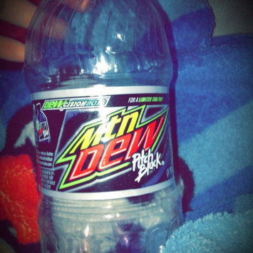 Mountain Dew® Pitch Black® Soda 16 fl. oz. Plastic Bottle uploaded by Ashley B.