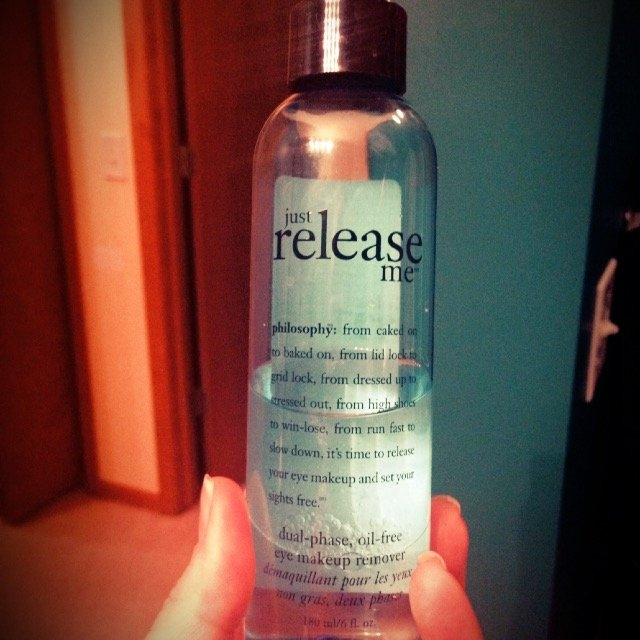 philosophy just release me dual-phase oil-free eye makeup remover uploaded by Jo R.