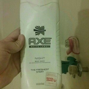 Photo of AXE White Label Night Body Wash uploaded by Nicole D.