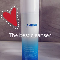 LANEIGE Brightening Sparkling Water Foam Cleanser uploaded by Celina P.