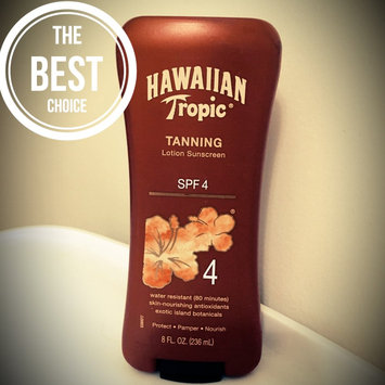 Photo of Hawaiian Tropic® Dark Tanning Lotion Sunscreen uploaded by Katie A.