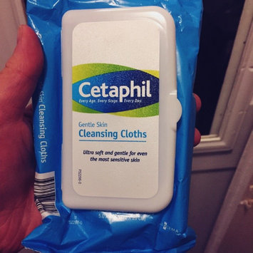 Photo of Cetaphil® Gentle Skin Cleansing Cloths uploaded by Calista W.