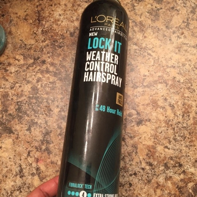L'Oréal Paris Advanced Hairstyle Lock It Weather Control Hairspray, 8. uploaded by Andrea B.