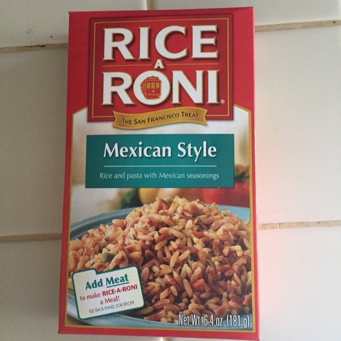 Rice-A-Roni Mexican Style Rice Mix 6.4 Oz Box uploaded by Stevi L.
