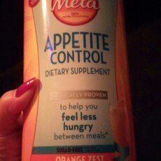 Photo of Appetite Control Meta Appetite Control Dietary Supplement, Sugar-Free Orange Zest, 57 servings uploaded by Lindsay B.
