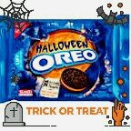 Nabisco Oreo Cookies Halloween Orange Creme uploaded by Angelica S.