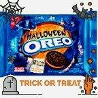 Nabisco Oreo Cookies Halloween Orange Creme uploaded by Angelica S.
