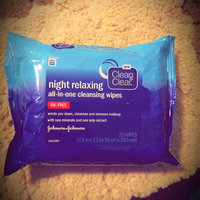 Clean & Clear® Night Relaxing™ All-in-one Cleansing Wipes uploaded by Tiffany L.