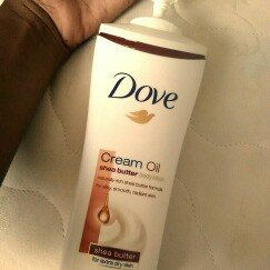 Photo of Dove Cream Oil Shea Butter Body Lotion uploaded by Aneshia C.