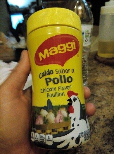 MAGGI Granulated Chicken Flavor Bouillon uploaded by Lidia Z.