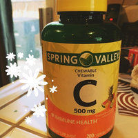 Spring Valley Chewable C Vitamin Multiple Fruit flavors Dietary Supplement 200 ct uploaded by Brittany M.