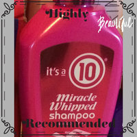 It's a 10 Miracle Whipped Sulfate Free Shampoo uploaded by Leslie B.