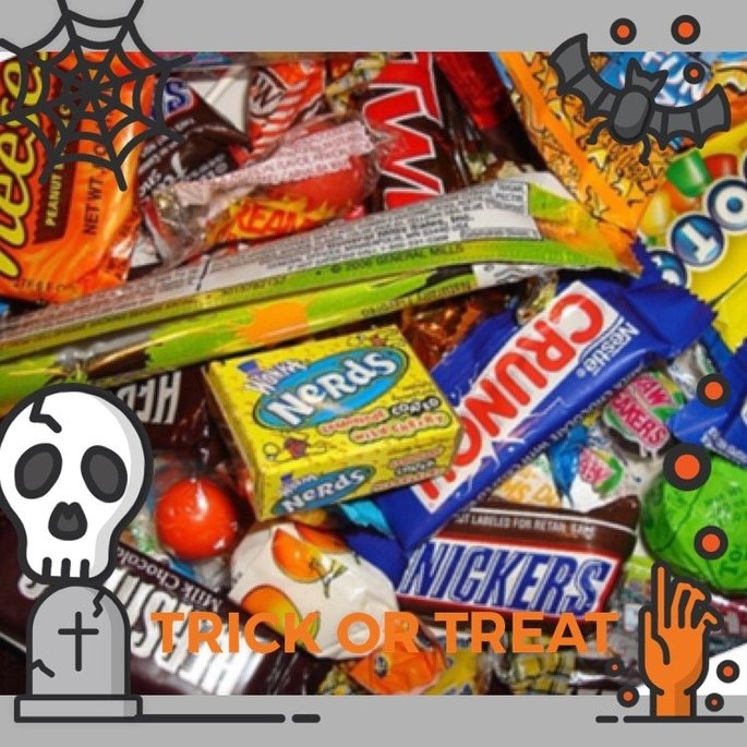 Hershey's Halloween Assorted Candy, 55 count uploaded by Kelley C.