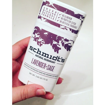 Schmidt's Deodorant Lavender + Sage Deodorant uploaded by Emily C.