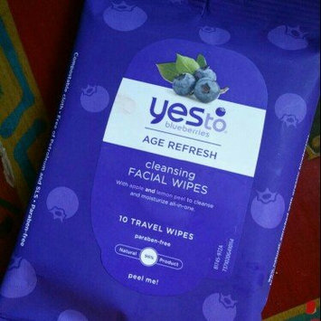 Photo of Yes To Blueberries Cleansing Facial Wipes uploaded by Gery G.