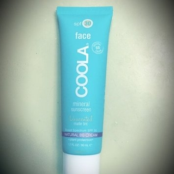 COOLA Face SPF 30 Mineral Sunscreen Unscented Matte Tinted Natural BB Cream uploaded by Nahla K.