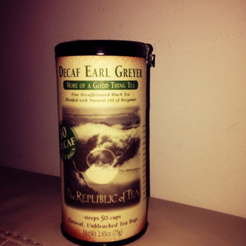 The Republic of Tea, Earl Greyer Decaf Tea, 50-Count uploaded by Selva A.