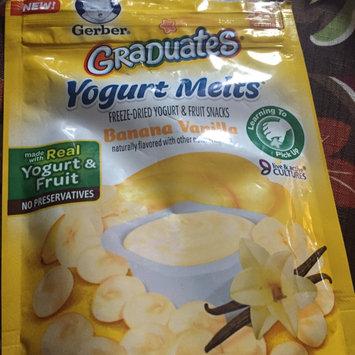 Photo of Gerber® Graduates® Yogurt Melts® | Banana Vanilla uploaded by Mindy N.