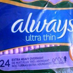 Photo of Always Maxi Size 5 Extra Heavy Overnight Pads with Wings Unscented uploaded by Linda H.