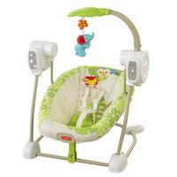 Fisher-Price Rainforest Friends Space Saver Swing and Seat uploaded by Megan B.